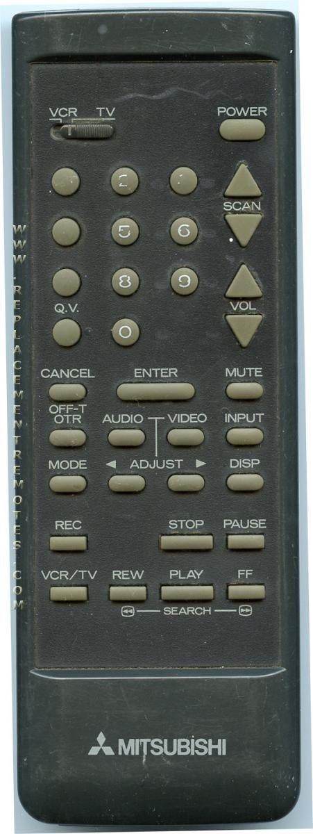 MITSUBISHI 290P004A1 Remote Control