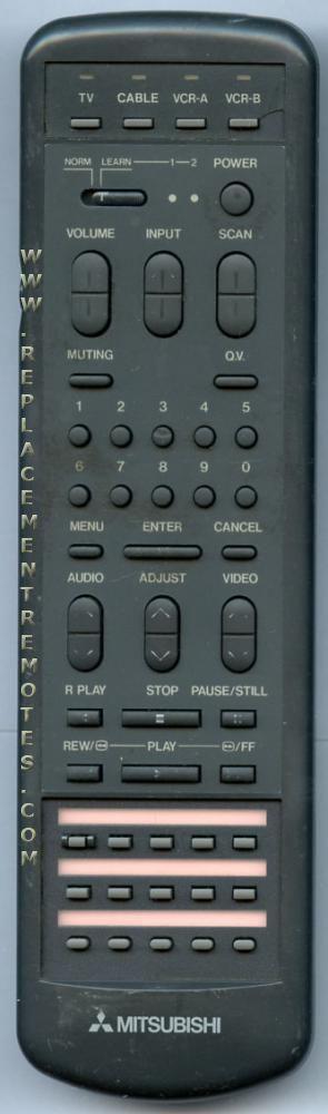 MITSUBISHI 290P025A20 Remote Control