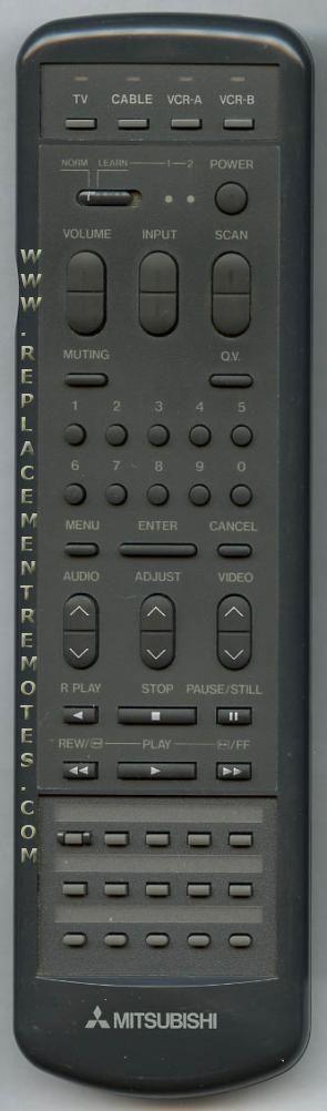 MITSUBISHI 290P025A3 Remote Control