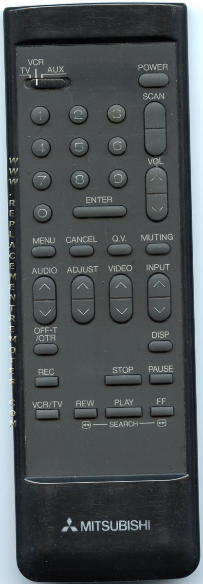 MITSUBISHI 290P005A60 Remote Control
