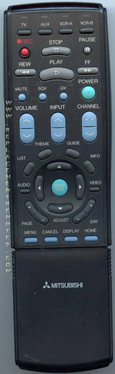MITSUBISHI 290P034A30 Remote Control