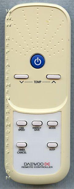 Buy Daewoo 311009r500 Air Conditioner Unit Remote Control