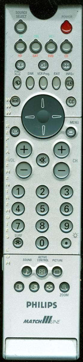 PHILIPS RC2060/01B TV Remote Control