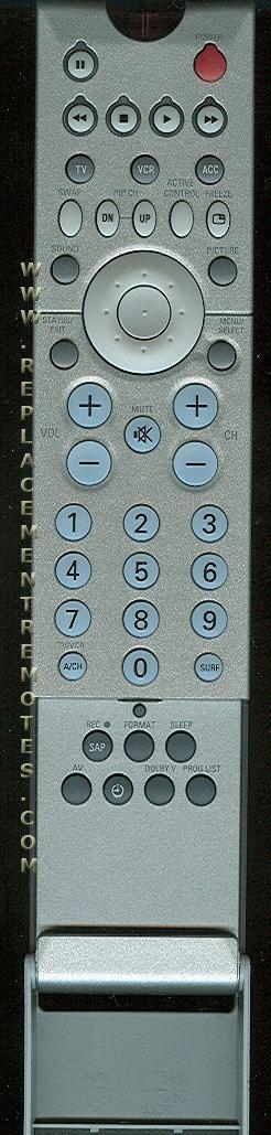 PHILIPS RC2061/01 TV Remote Control