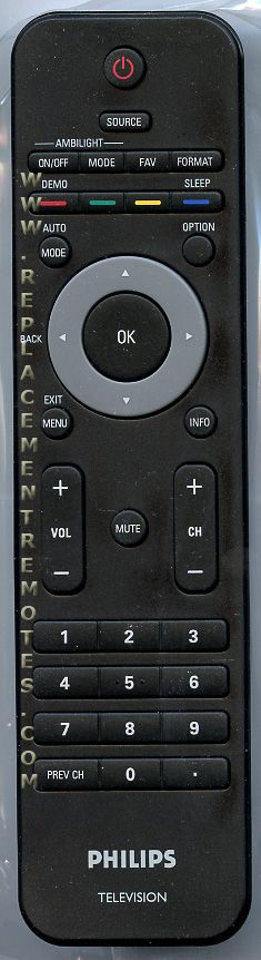 PHILIPS RC2143601/01 TV Remote Control