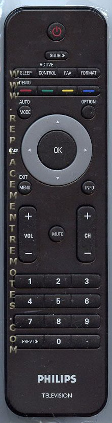 PHILIPS 313922852812 TV Remote Control