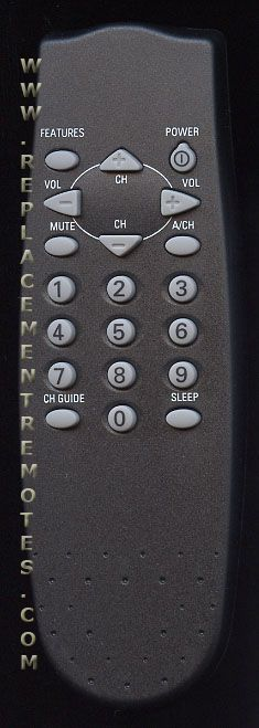 PHILIPS RC0705/00 Commercial TV Remote Control