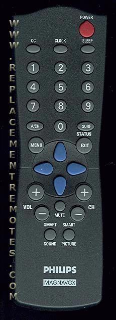 buy philips magnavox rc282901 04 313922881451 tv remote control rh replacementremotes com philips magnavox tv remote codes philips magnavox remote control manual