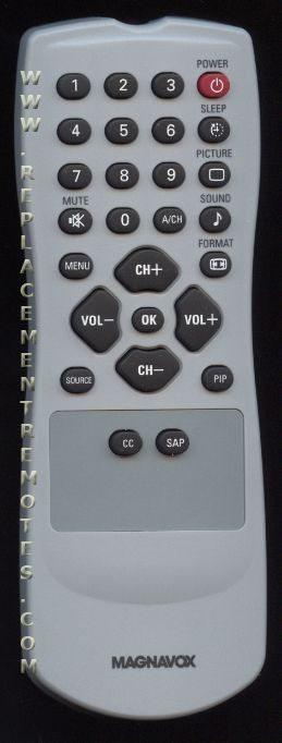 Magnavox RC1112713/17B TV Remote Control
