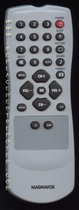 buy magnavox 313923810292 rc1112713 17b 313923810291 tv remote control rh replacementremotes com magnavox nh409ud remote manual magnavox nb093 remote manual