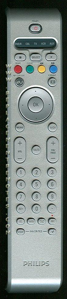 PHILIPS RC4346/01B TV Remote Control