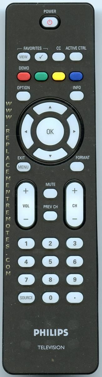 PHILIPS RC203360101 TV Remote Control
