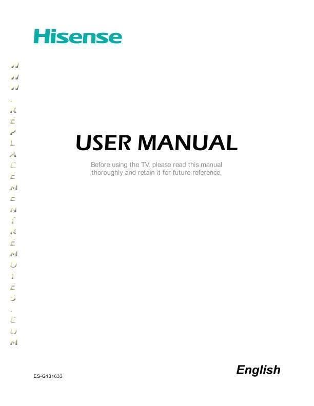 Hisense Manual download