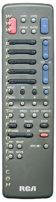 RCA CRK62B TV Remote Control
