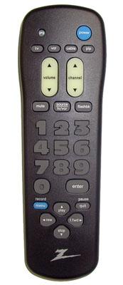 ZENITH 1240022901 Remote Control