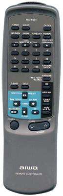 AIWA 85NF2615010 Audio System Remote Control