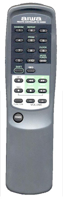 AIWA 86CL7951010 Remote Control
