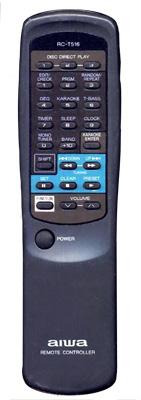 AIWA 86NF7951010 Remote Control