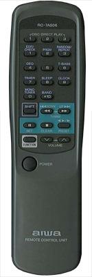 AIWA 87NF6630010 Remote Control