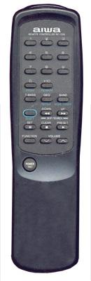 AIWA CADW620U Audio System Remote Control