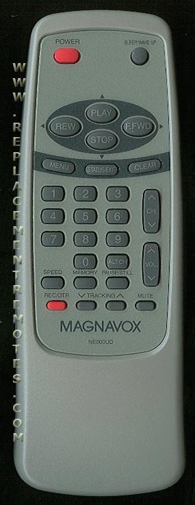 Magnavox NE000UD VCR Remote Control