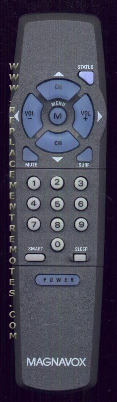 Magnavox 483521917641 TV Remote Control