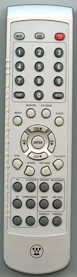 Westinghouse 5041807400 TV Remote Control