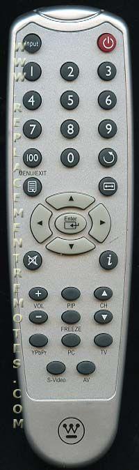 Westinghouse 5041809000 TV Remote Control