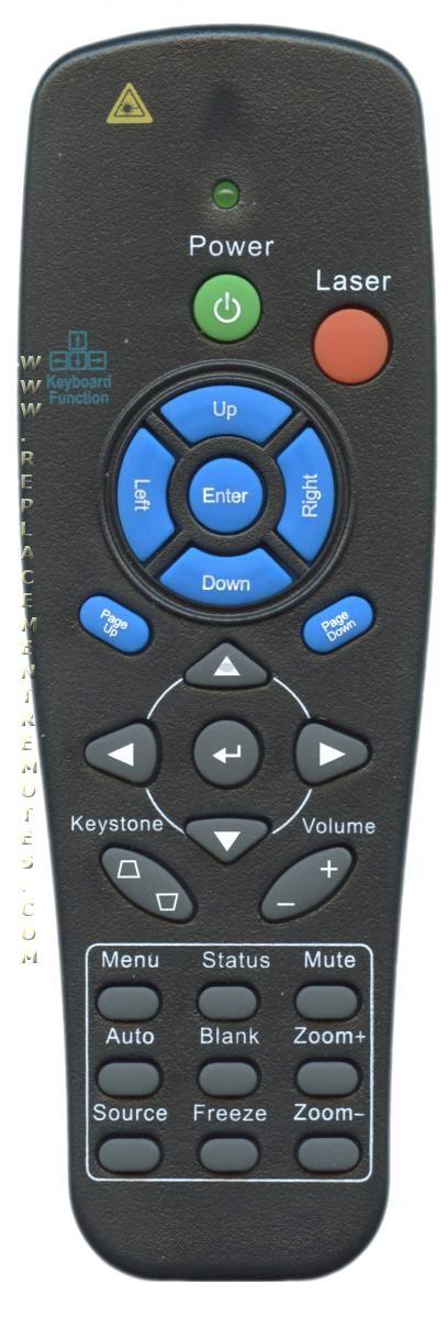 Vivitek 5041818400 Projector Remote Control