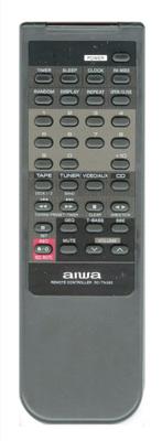 AIWA 514750108 Remote Control