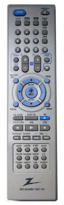 ZENITH 6711R1N150A DVD/VCR Combo Player Remote Control