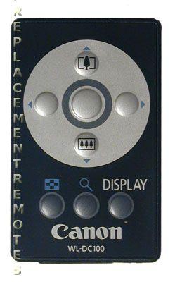 CANON 5748A001AA Video Camera Remote Control