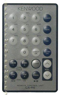 KENWOOD CAR6 Remote Control