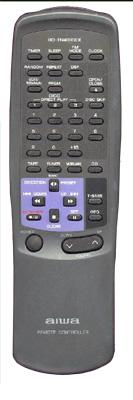 AIWA 514750168 Remote Control