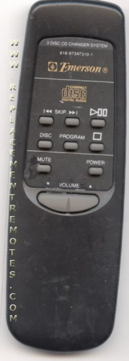 Buy Emerson 616 973at310 1 616973at3101 Cd Player Remote