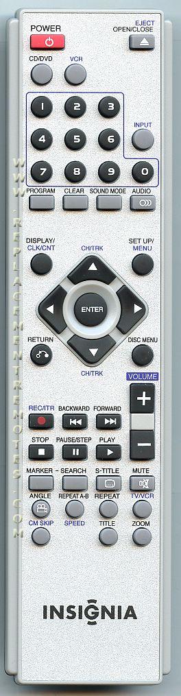 INSIGNIA 6710CDAM01C Remote Control