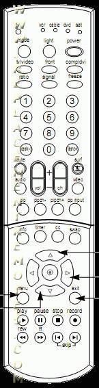 ZENITH 6710V00102B Remote Control
