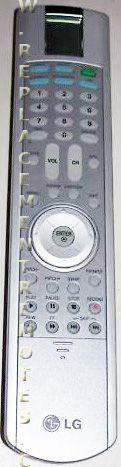 LG 6710V00137G TV Remote Control