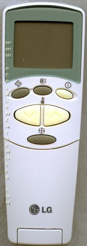 LG 6711A20128F Air Conditioner Unit Remote Control