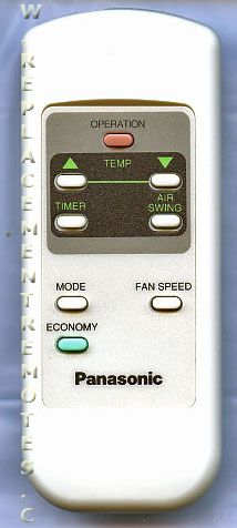 Buy Panasonic 6711a90018a Air Conditioner Unit Remote Control