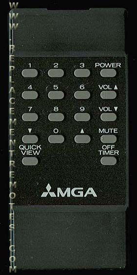 MGA 939P196A1 TV Remote Control