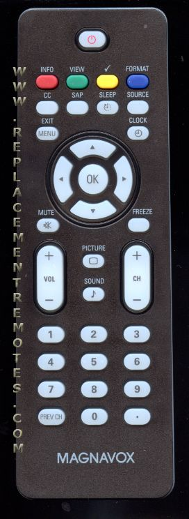 buy magnavox rc2023608 01b 996500043780 tv remote control rh replacementremotes com magnavox universal remote manual magnavox mc345 remote manual