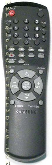 SAMSUNG AA5900207A TV Remote Control