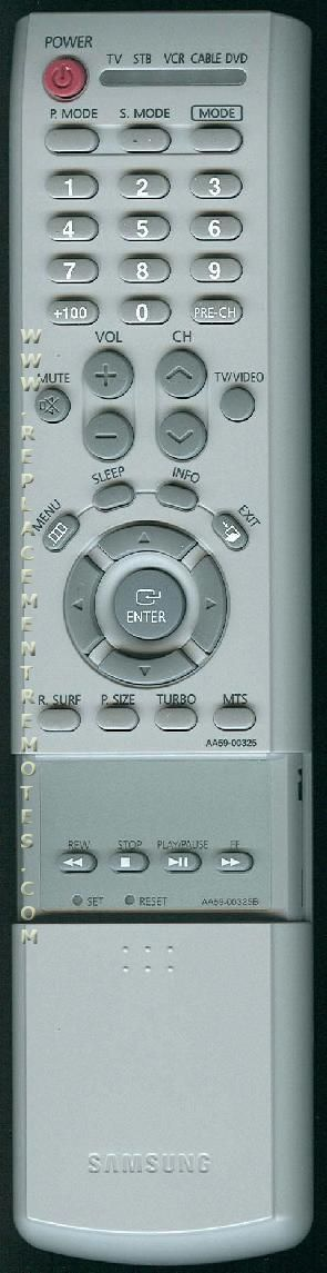 SAMSUNG AA5900325B TV Remote Control