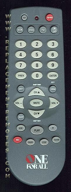 Buy One For All Urc4640b01 4 Device Universal Remote Control