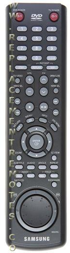 SAMSUNG AK5900025G DVD Player Remote Control