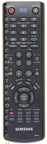 SAMSUNG AK5900039F DVD/VCR Combo Player Remote Control