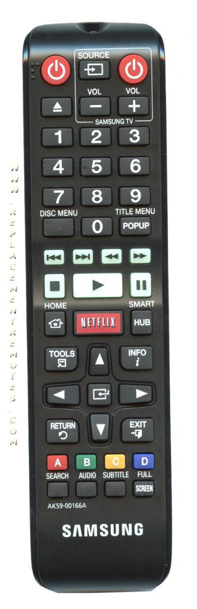 Buy Samsung Ak5900166a Blu Ray Dvd Player Remote Control