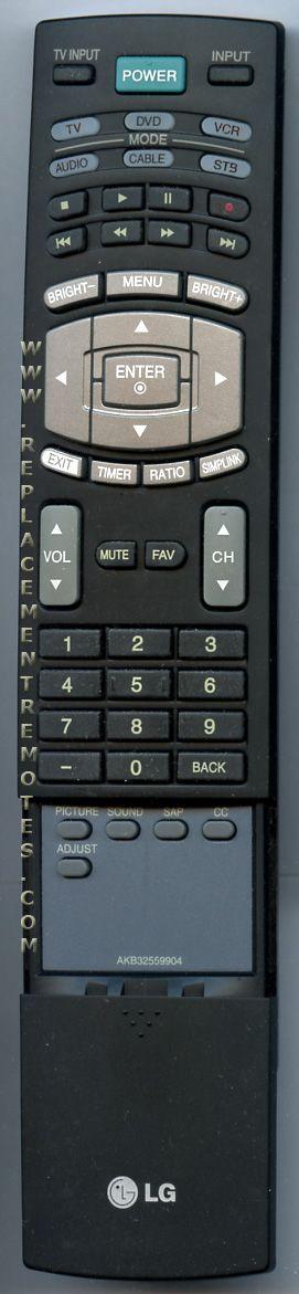 buy lg akb32559904 tv remote control