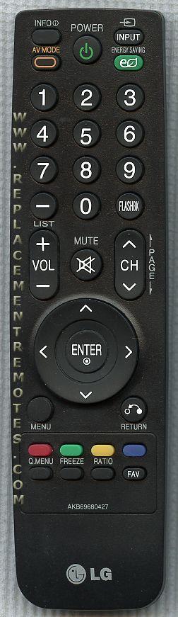 LG AKB69680427 Remote Control